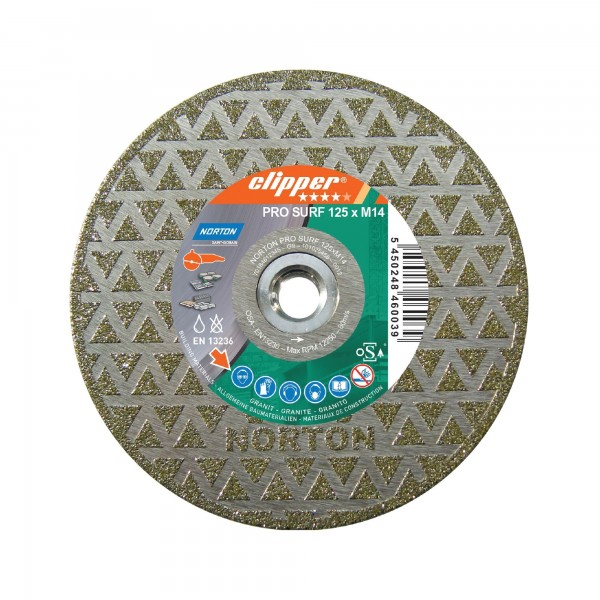 Diamantscheibe Norton Clipper PRO MARMO SURF